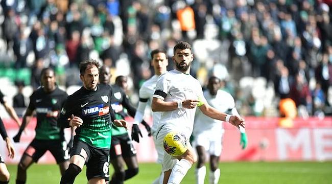 Konyaspor ile Denizlispor golsüz berabere