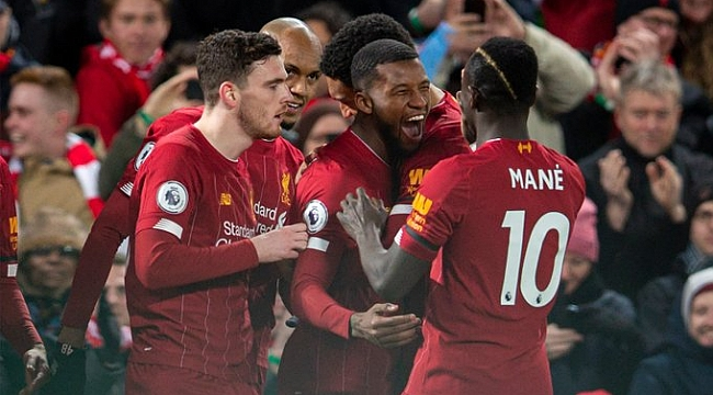 Liverpool'dan üst üste 18. galibiyet