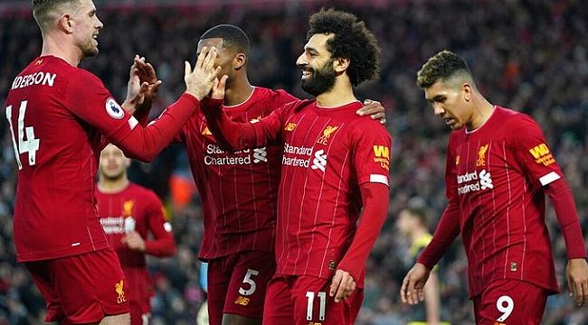 Liverpool koşar adım