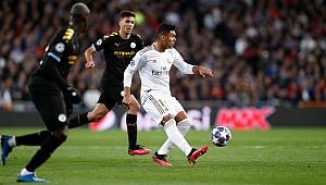 Manchester City Madrid'te kazandı