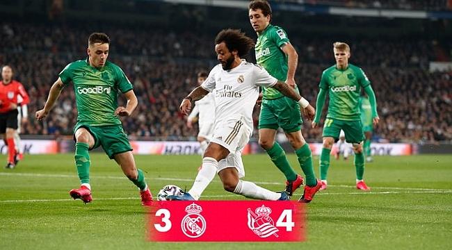 Real Madrid Kral Kupası'na veda etti