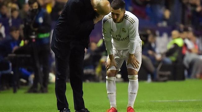Real Madrid'te Hazard şoku