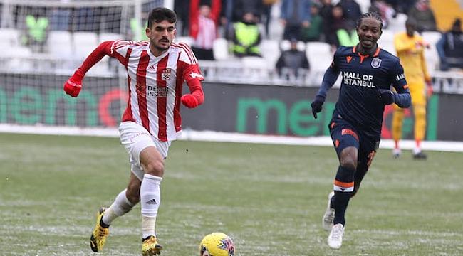 Sivasspor ile Başakşehir yenişemedi