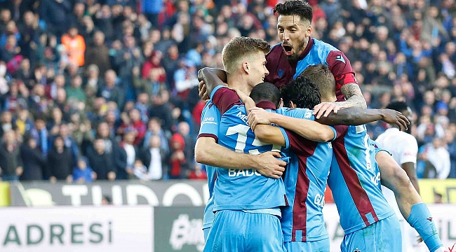 Trabzonspor Sörloth'la kazandı, liderliği Sivas'tan devraldı
