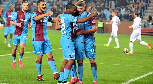 Trabzonspor yarı final biletini aldı