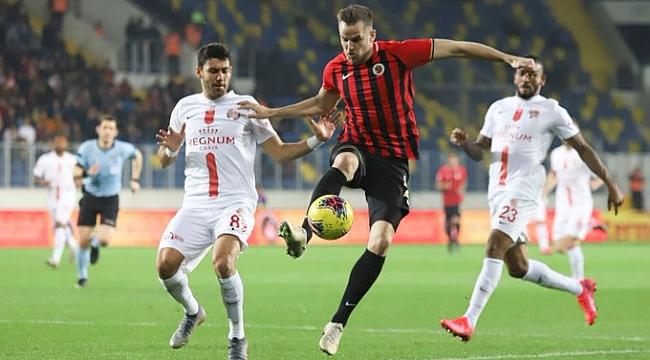 Antalyaspor Başkent'ten puanla dönüyor