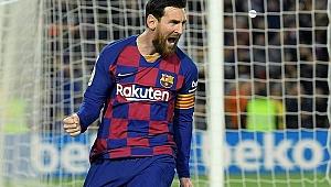 Barcelona Messi'nin penaltısıyla kazandı