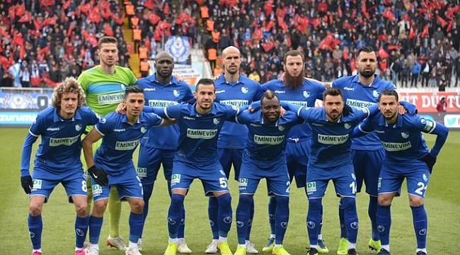 BB Erzurumspor 3 puanı 2 golle aldı
