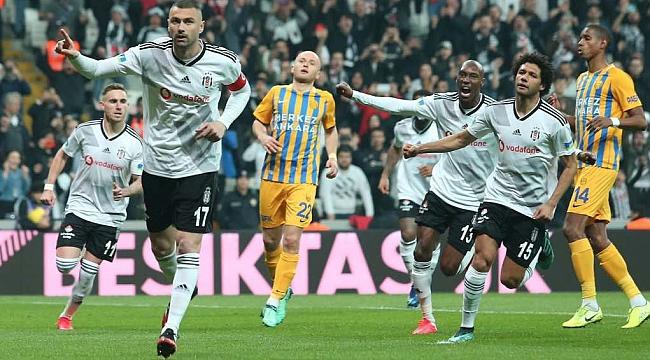 Beşiktaş Ankaragücü engelini 2-1'le geçti