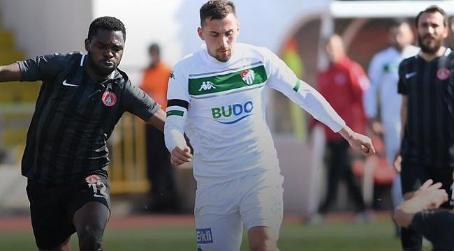 Bursaspor 2 puan daha kaybetti