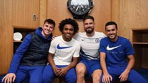 Chelsea Everton'ı 4 yıldızın 4 golüyle devirdi
