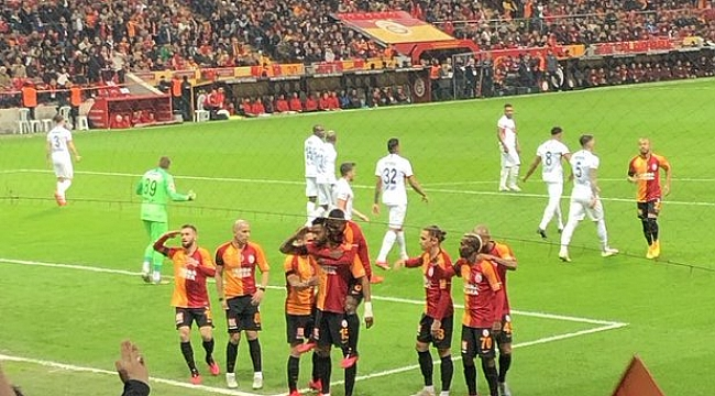 Galatasaray Gençlerbirliği'ni 3-0'la geçti