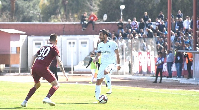 Haftanın maçında Hatayspor ile BB Erzurum berabere kaldı