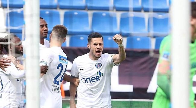Kasımpaşa Kayserispor'a gol yağdırdı