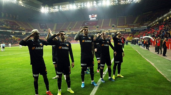 Kritik maçı Kayserispor kazandı
