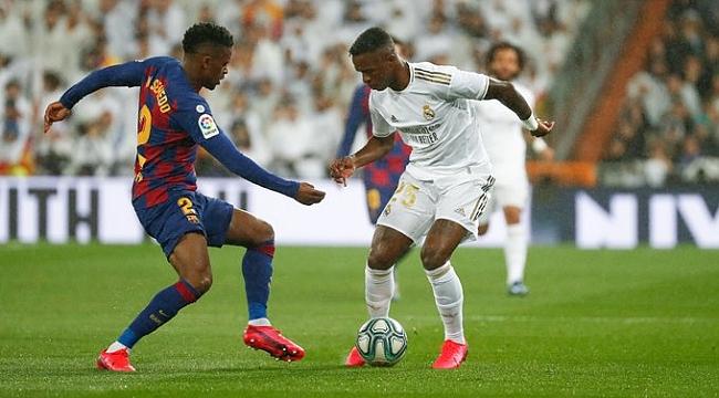 Real Madrid El Clasico'yu kazandı tekrar lider oldu