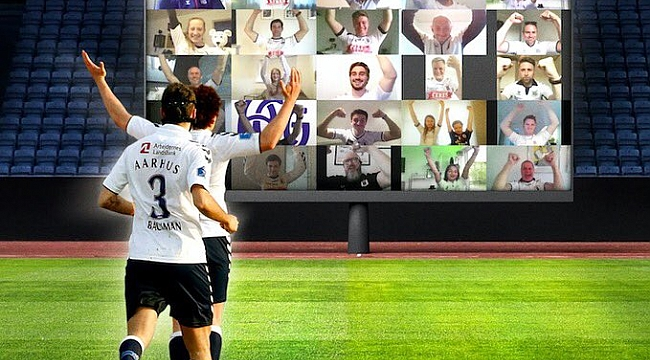Dünyada bir ilk! Sanal futbol tribünü kuruluyor