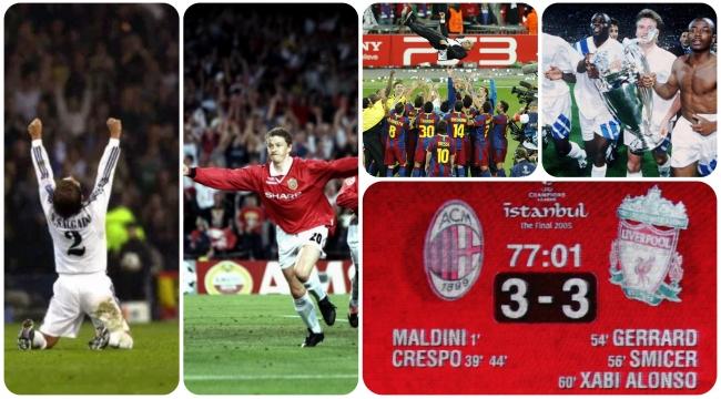 En unutulmaz 10 Şampiyonlar Ligi finali