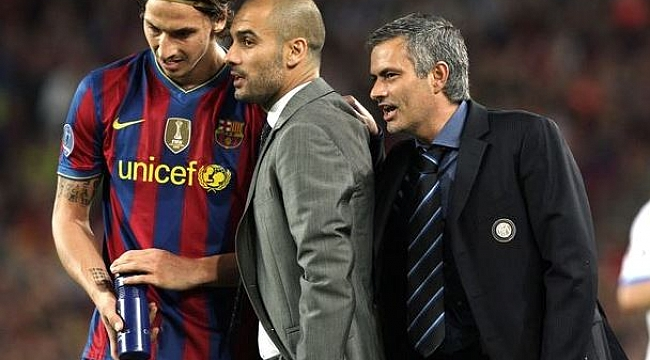 Mourinho, Guardiola'ya ne fısıldadı?
