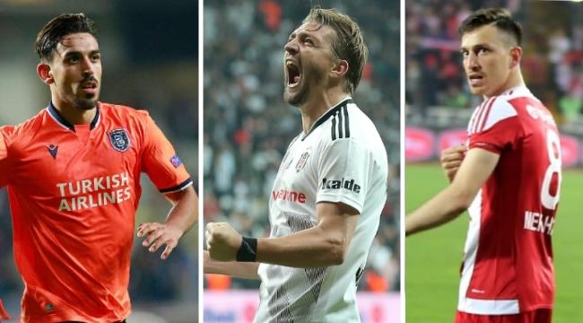 Süper Lig'de transferin 8 yıldız ismi