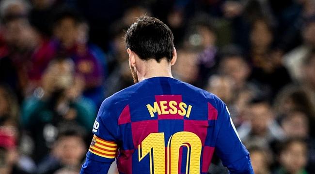 Barcelona'da Messi sakatlandı
