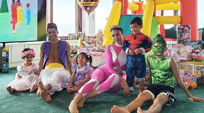 CR7 bu kez Aladdin oldu