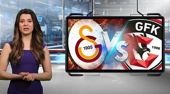 Galatasaray - Gaziantep FK maçı hangi kanalda, saat kaçta?