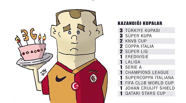 Galatasaray Sneijder'i unutmadı