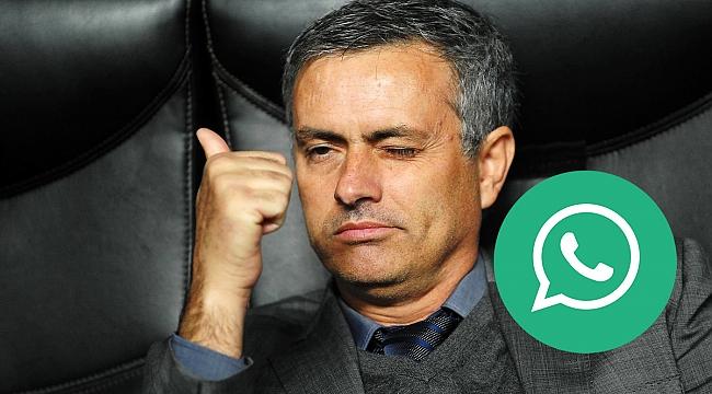 Jose Mourinho'nun WhatsApp grubu