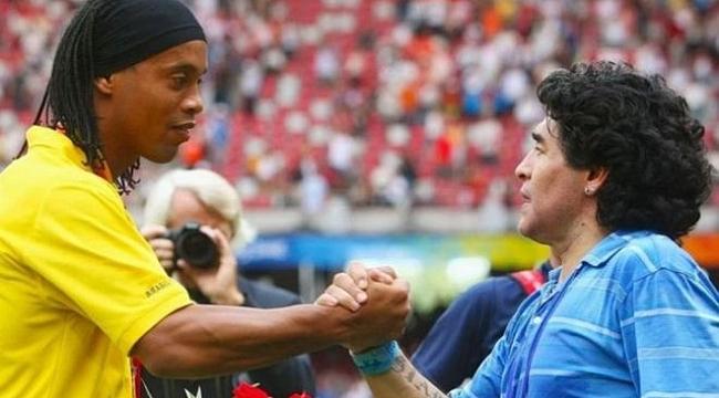 Ronaldinho geri mi dönüyor? Maradona ile aynı takım...