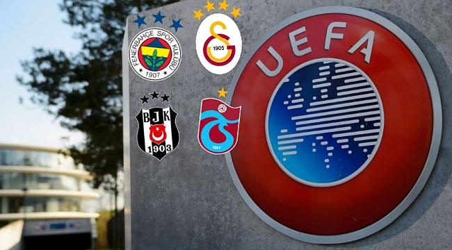 UEFA'dan ceza alan Türk takımları