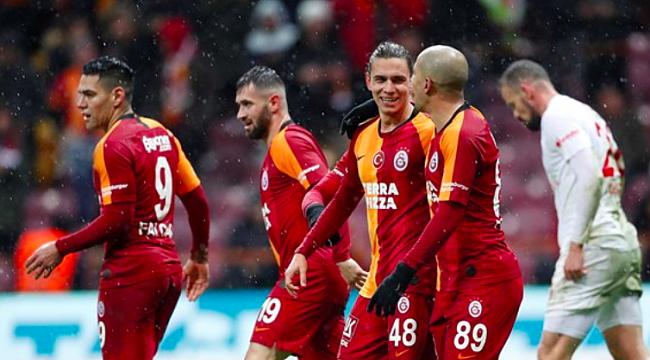 Antalyaspor - Galatasaray muhtemel 11'ler