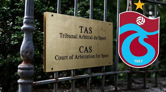 CAS'tan Trabzonspor için karar