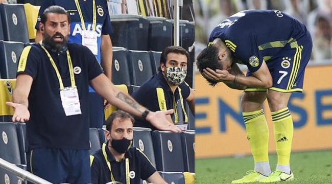 Fenerbahçe'de Emre ve Volkan yıkıldı