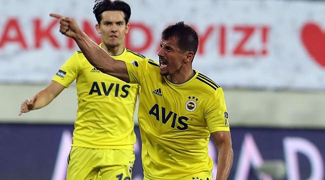 Fenerbahçe'de puanı kaptan kurtardı!