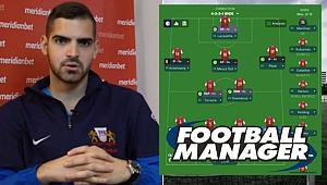 Football Manager oynayarak hocalık teklifi alan oyuncu