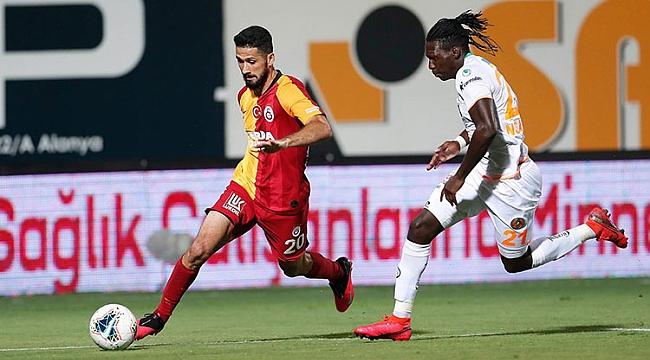 Galatasaray, Alanya'da 4 golle yıkıldı