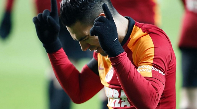 Galatasaray'da Falcao kadroda yok!