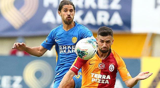 Galatasaray'ın çöküşü Ankara'da da sürdü