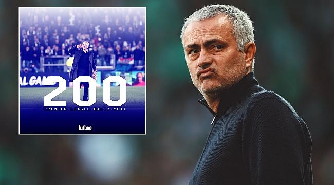 Jose Mourinho Premier League'de tarih yazdı!