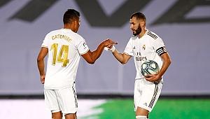 Real Madrid zafere bir adım daha yaklaştı!