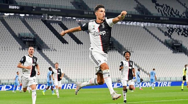 Ronaldo yine tarih yazdı! Juventus çok yakın...
