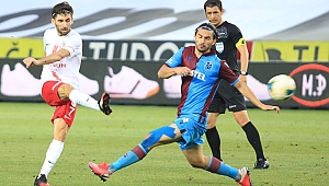Trabzonspor'a evinde ağır darbe