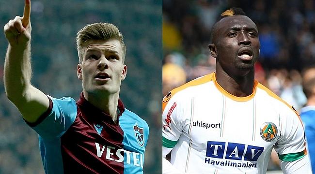 Trabzonspor - Alanyaspor maçının iki kilit ismi