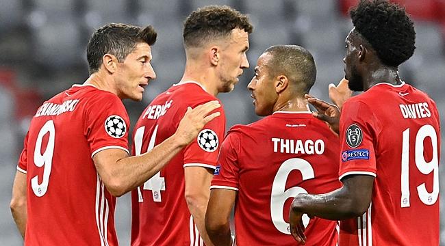 Bayern Münih güle oynaya çeyrek finalde!
