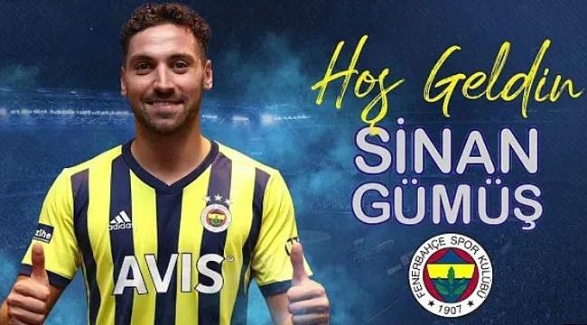 Fenerbahçe'nin son transferi Sinan Gümüş!
