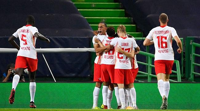 Leipzig, Şampiyonlar Ligi'nde yarı finalde!