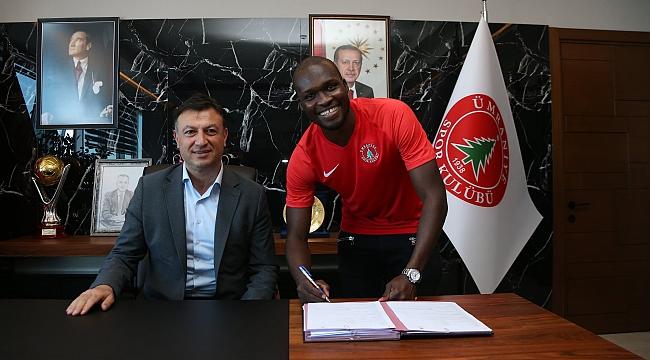 Moussa Sow, Ümraniyespor'a transfer oldu
