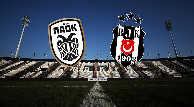PAOK - Beşiktaş muhtemel 11'ler