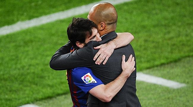 Pep Guardiola, Lionel Messi'yi bekliyor!